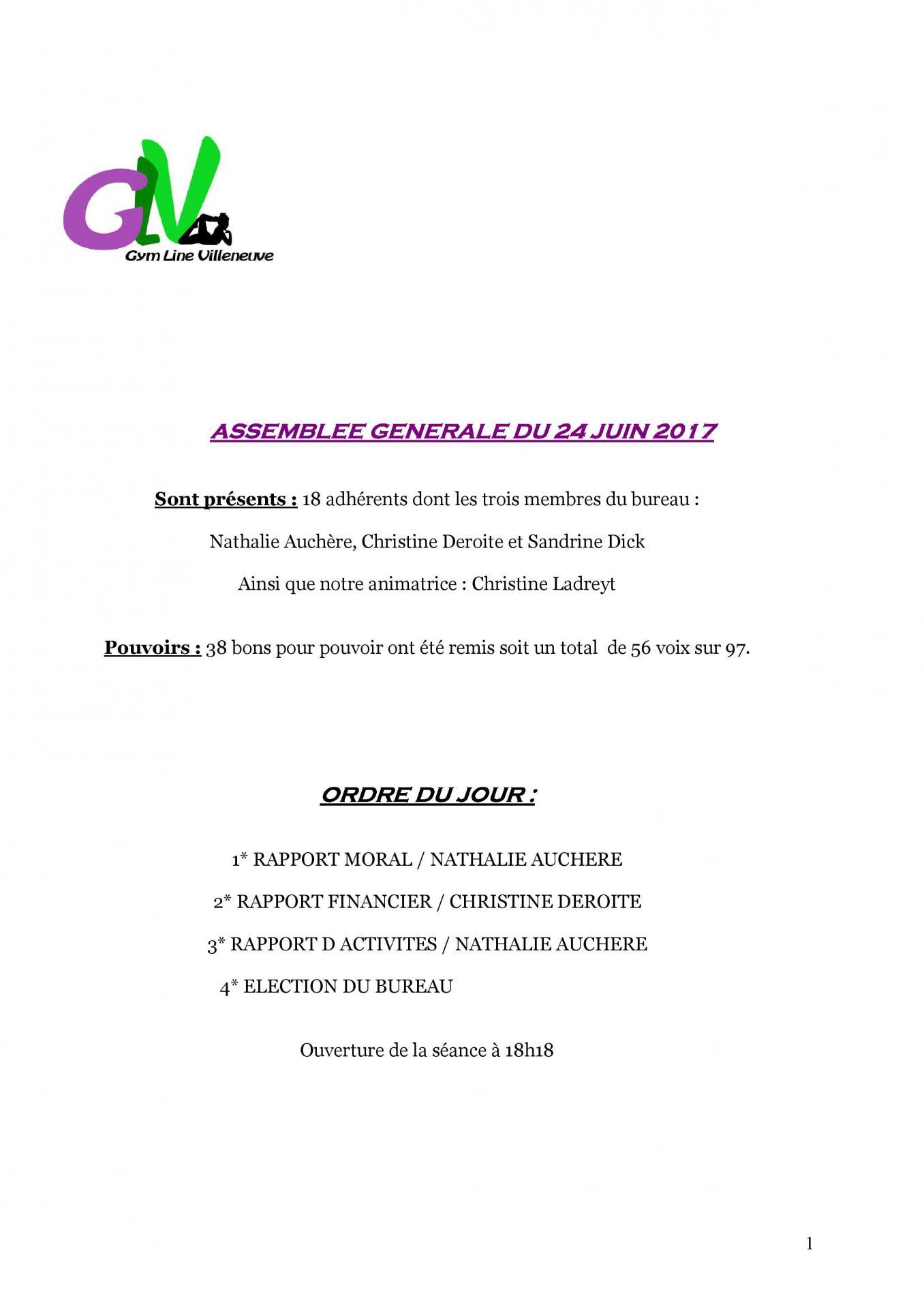 Pv assemblee generale du 24 juin 2017 page 001
