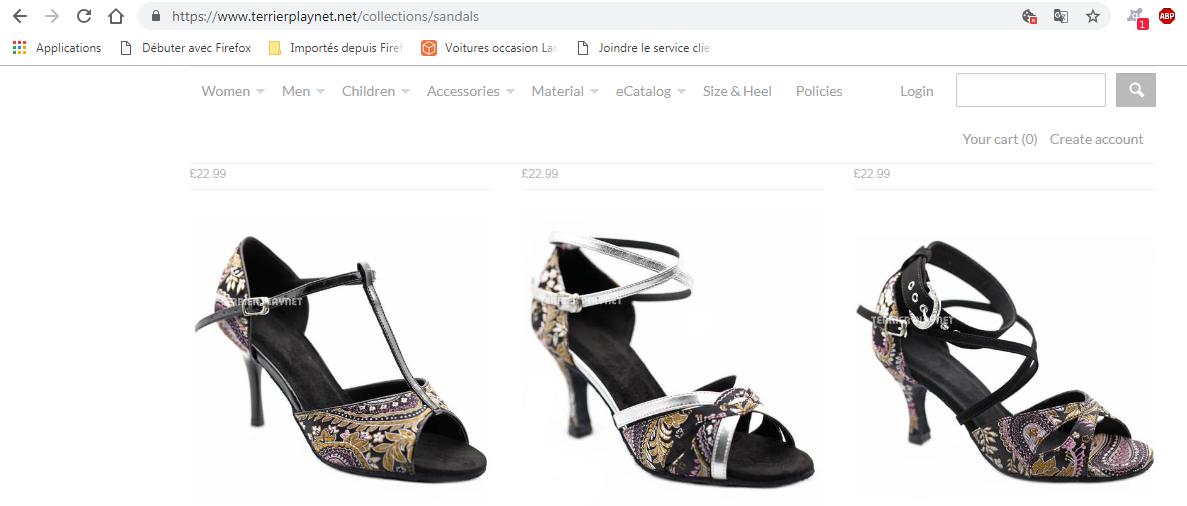 TPS chaussures de danses avec choix hauteur de talons!!!