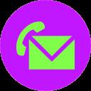 Message voice mail 128